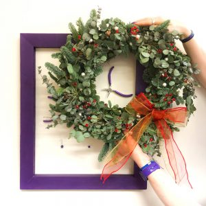Festive Wreath with Glasshouse Florals