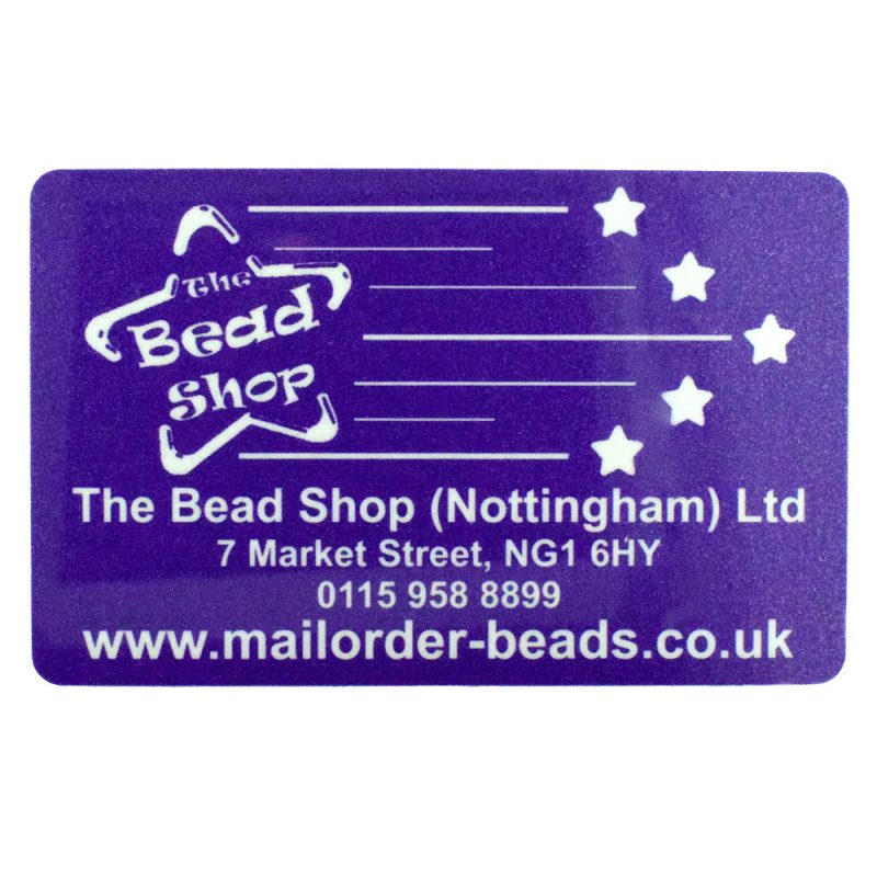 The Bead Shop Gift Card