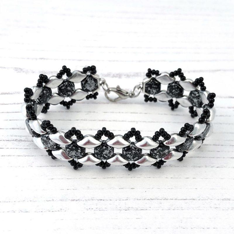 jewellery making class with Swarovski crystal