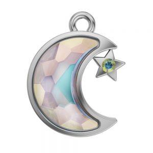 Swarovski Lizzy Luna Charm Crystal AB