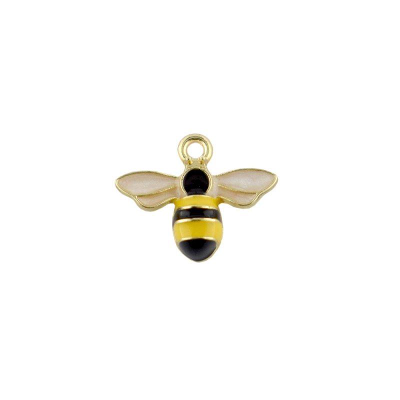Enamel Bee Charm