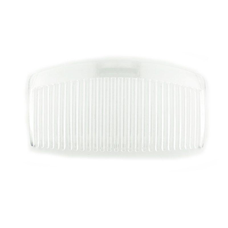 Haircomb Large Clear Plastic