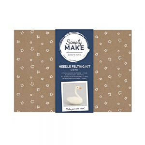 Swan Needle Felting Kit