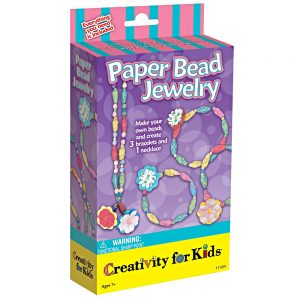 paper bead jewellery set