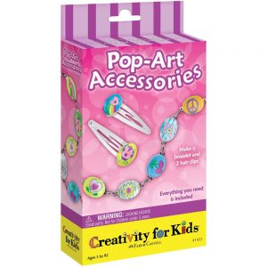 Kids Beading Kit - Hair Clips and Bracelets
