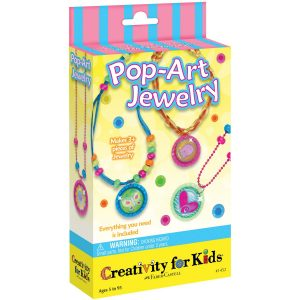 pop art jewellery for kids