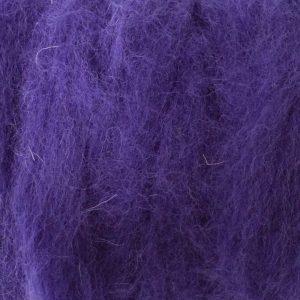 Purple Corriedale roving for felting