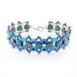Honey Ripple Bracelet kit Blue and Grey