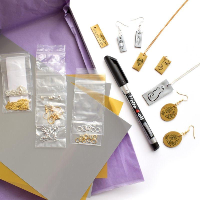 Shrink Plastic Jewellery Kit