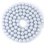 swarovski 4mm iridescent dreamy blue pearls