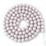 4mm Iridescent Dreamy Rose Swarovski Crystal Pearl