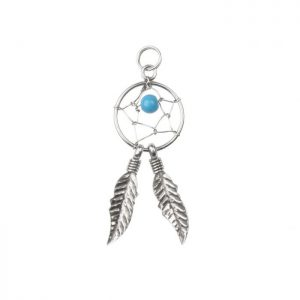 Dreamcatcher-charm-sterling-silver