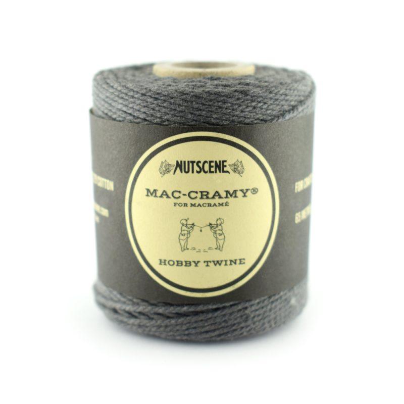 The 1mm Black Macrame fine cotton cord - The Bead Shop Nottingham