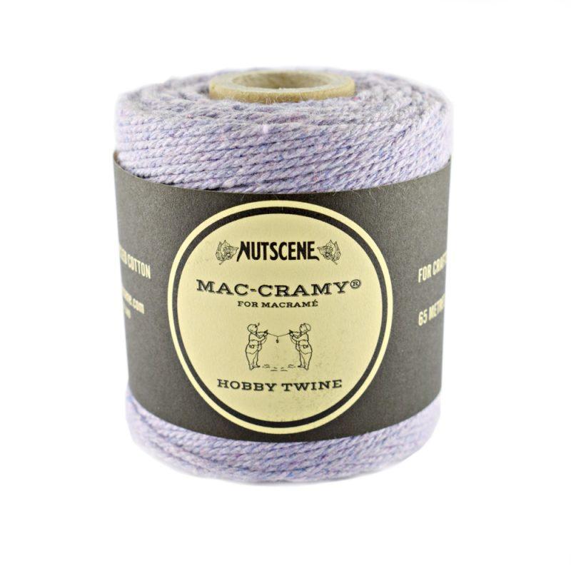 1mm Light Purple Macrame Fine Cotton Cord - The Bead Shop Nottingham