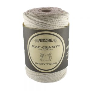 2.2mm Cream Macrame Cotton Cord The Bead Shop Nottingham