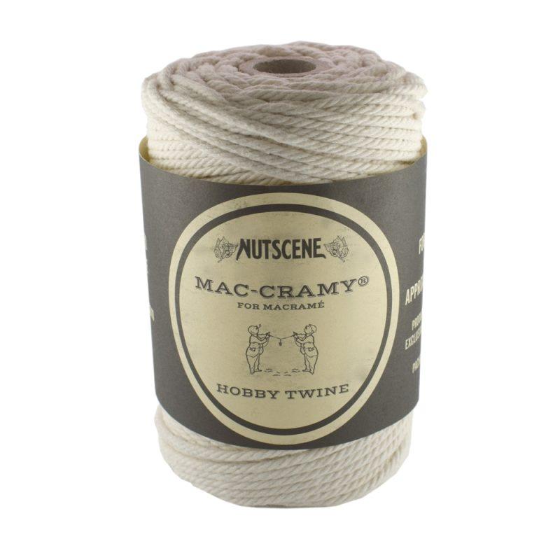 2.2mm Cream Macrame Cotton Cord The Bead Shop Nottingham