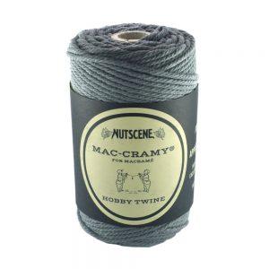 2.2mm Grey Macrame Cotton Cord