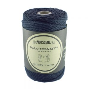Navy Blue thick Macrame Cord - The Bead Shop Nottingham