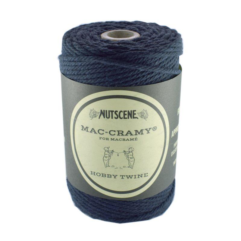 Navy Blue thick Macrame Cord - The Bead Shop Nottingham