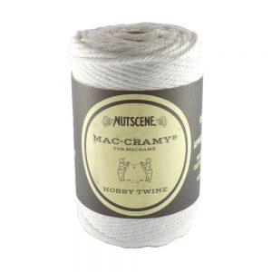 2.2mm White Macrame Cotton Cord The Bead Shop Nottingham
