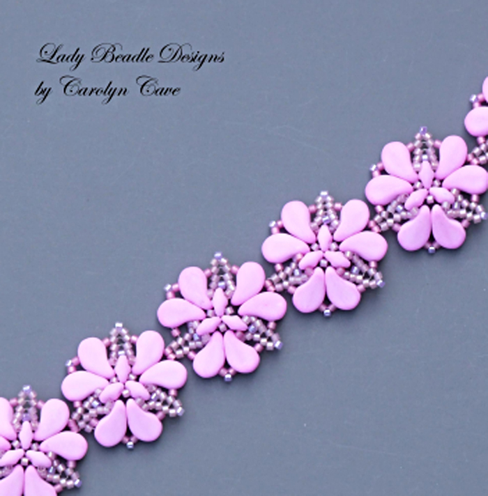 Bondeli Trillium Bracelet by  Carolyn Cave