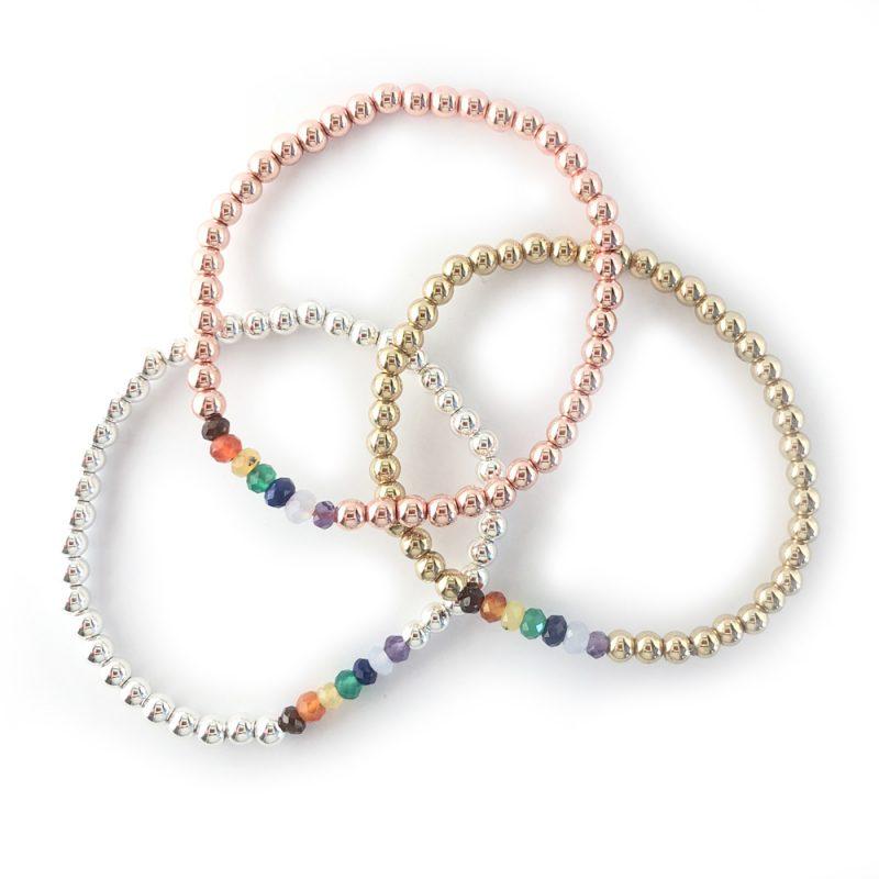 Chakra Bracelet collection The Bead Shop
