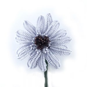 Beaded Gerbera Daisy virtual workshop with Lesley Belton