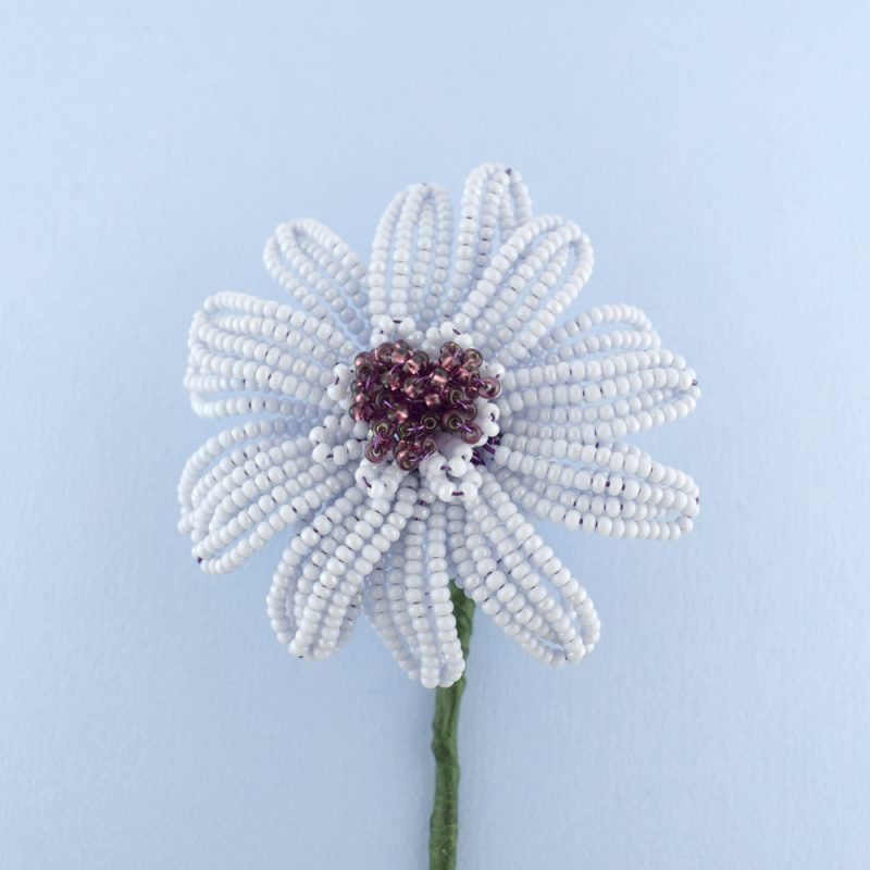 Beaded Gerbera Daisy