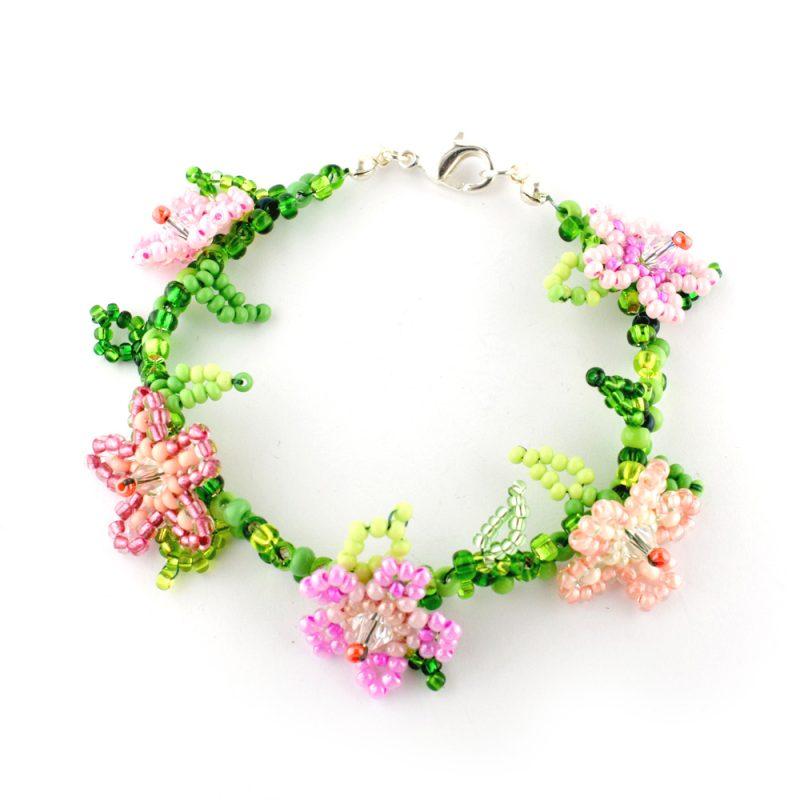 Training Flower Bracelet Virtual Workshop