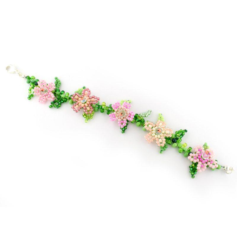 Training Flower Bracelet Workshop