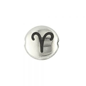 Aires Zodiac Sign Bead