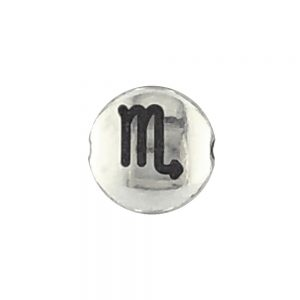 Scorpio Zodiac Sign Bead