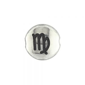 Virgo Zodiac sign bead