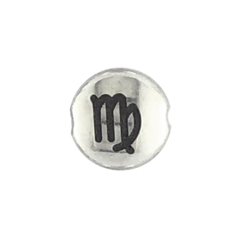 Virgo Zodiac sign bead