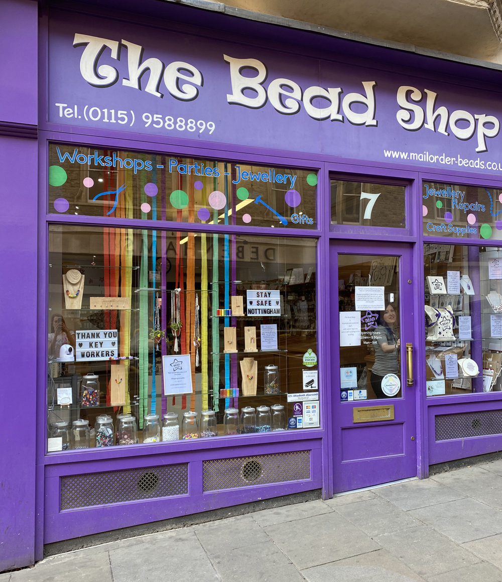 The Bead Shop During lockdown