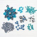 turquoise star mandala pendant