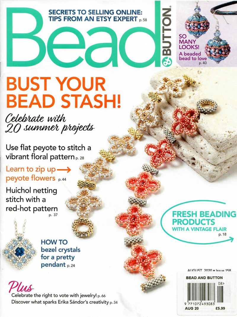 Bead & Button Issue 158 August 2020