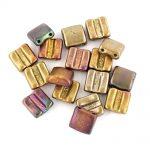 Violet Rainbow fixer beads