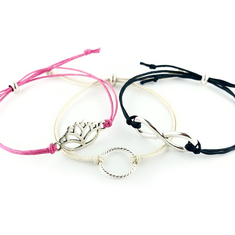 Examples of Stacking Bracelets - The Bead shop Nottingham