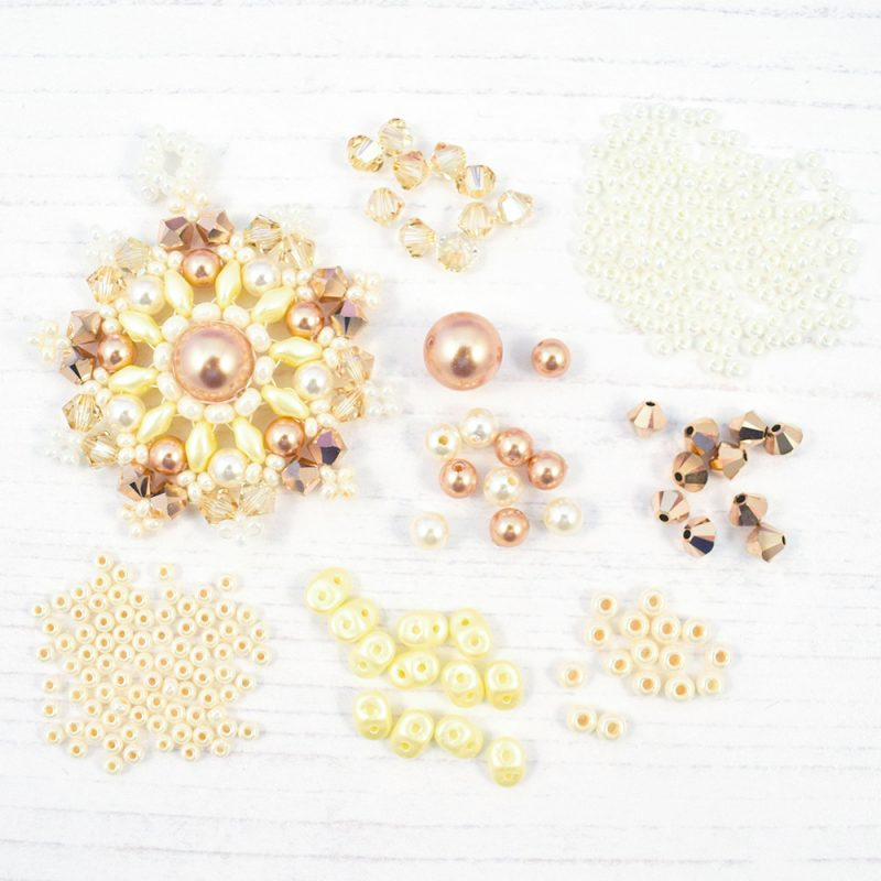 rose gold star mandala pendant