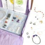 Semi Precious Gemstone jewellery making kit