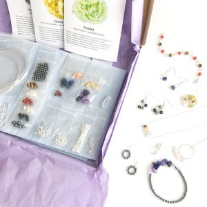 Semi Precious Gemstone jewellery making kit