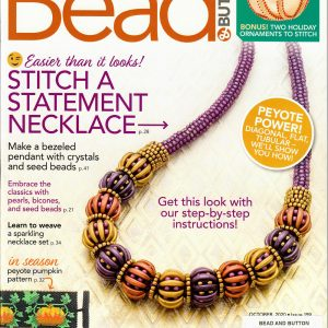 Bead & Button Magazine Issue 159 October 2020