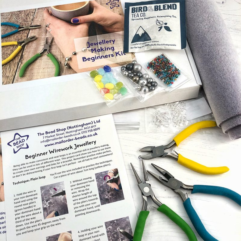 Beginners Jewellery Making kit contents