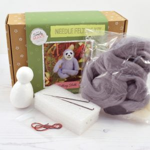 Needle Felt Kit Sloth