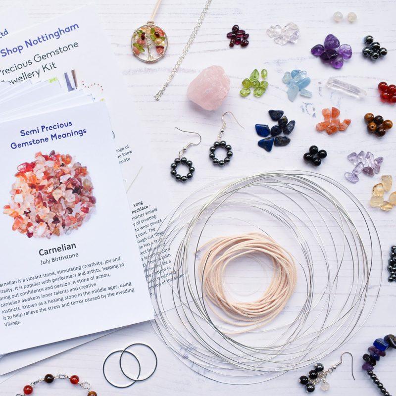 semi precious jewellery making kit