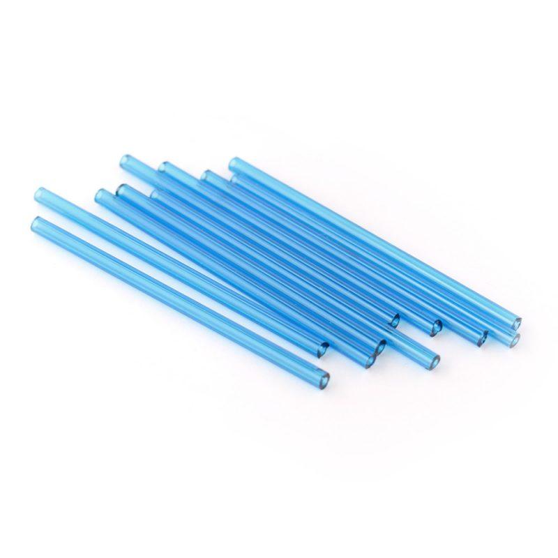 60mm innovated PRECIOSA glass tube beads