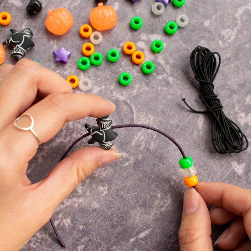 Halloween jewellery making