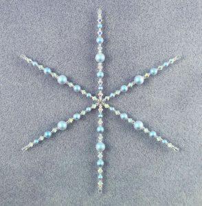 Complete Snowflake decoration