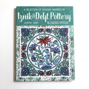 Iznik and Deflt Pottery in Cross Stitch book